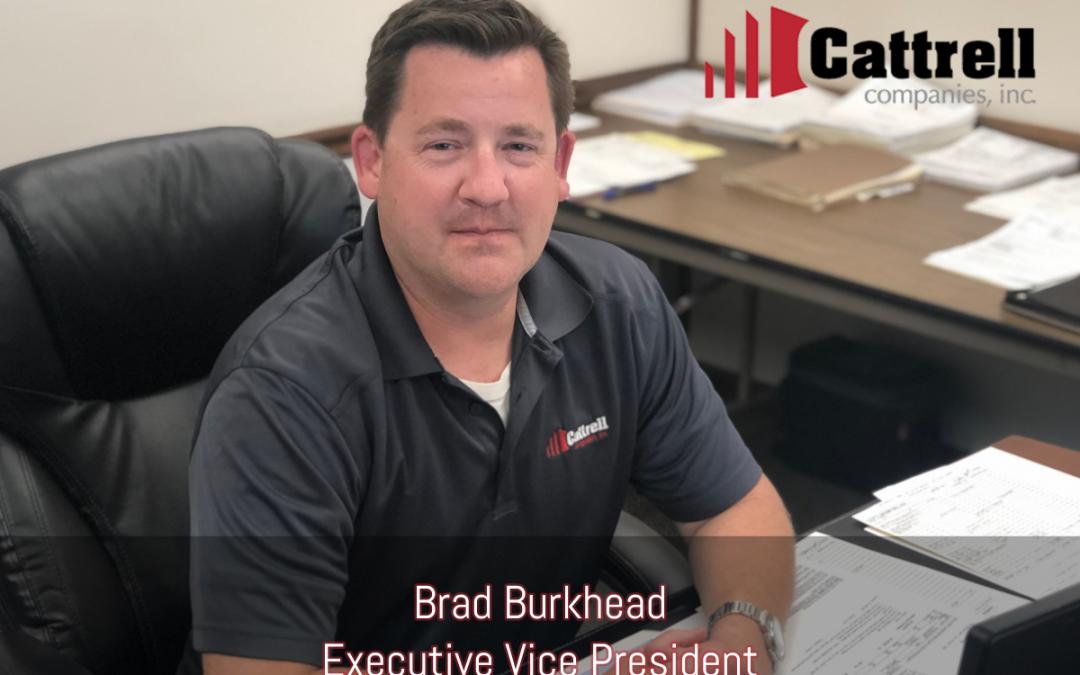 Brad Burkhead Becomes Executive Vice President of Cattrell Companies